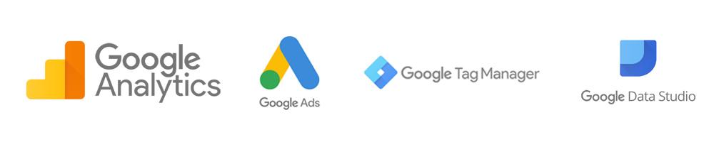 Logos outils Google